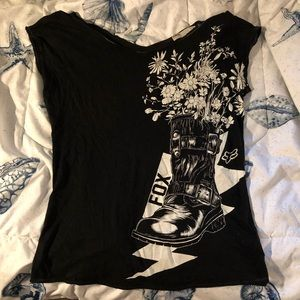 FOX Flower and Boot Top